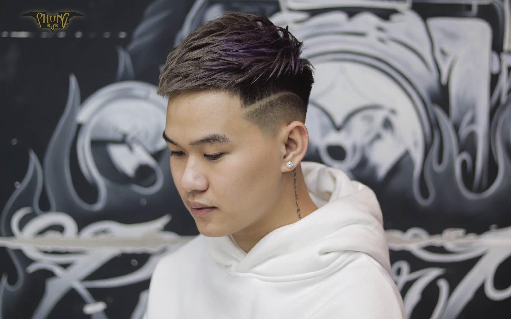 5 kiểu tóc nam mặt tròn đẹp nhất 2021 - Các em không thể rời mắt