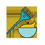 Nhuộm tóc chất ngầu