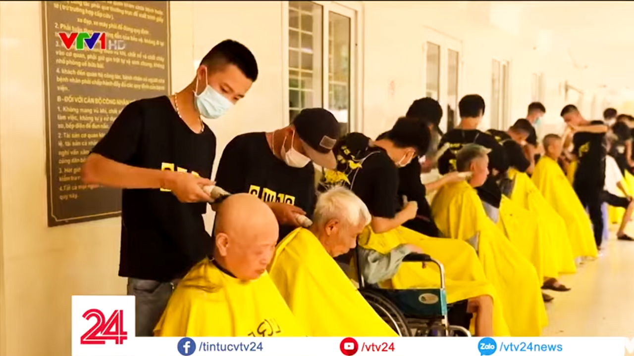 VTV24 đưa tin về học viện đào tạo tóc nam Phong BvB