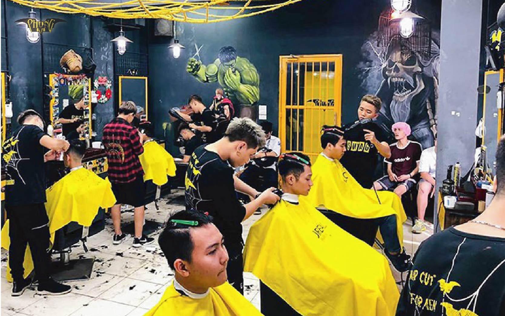 Địa chỉ cơ sở Phong BvB - Chuỗi tóc nam số 1 dành cho giới trẻ